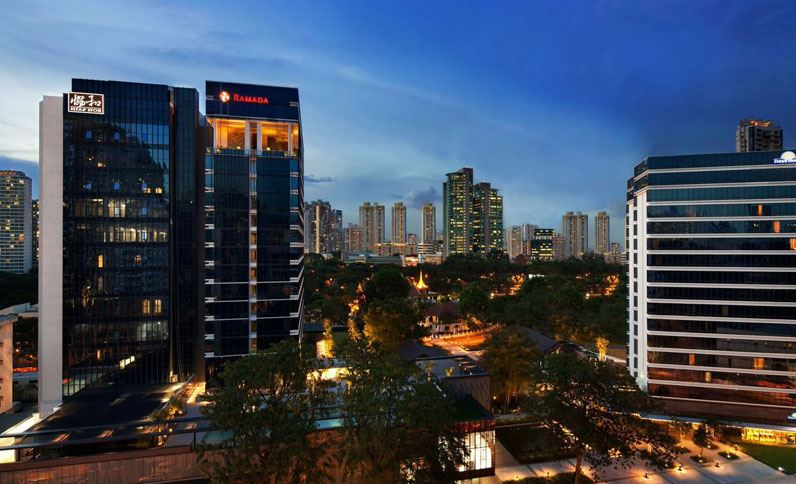 ramada days hotels singapore at zhongshan park