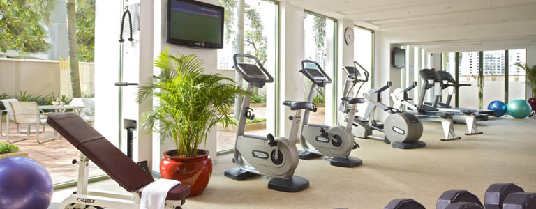 grand copthorne waterfronts hotel singapore gym