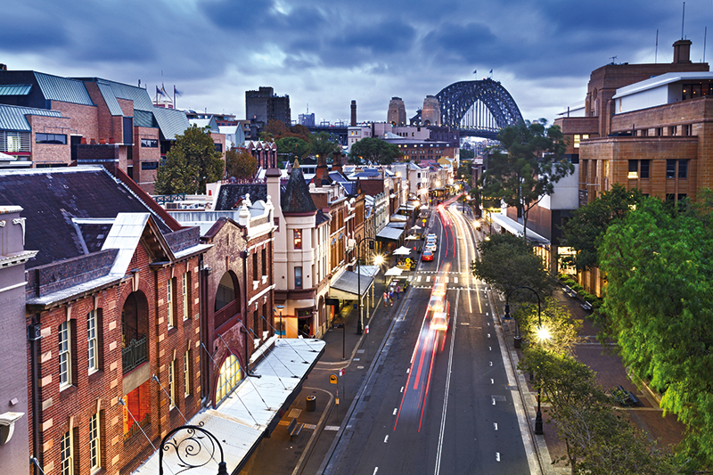 Aus   Sydney The Rocks_186130760